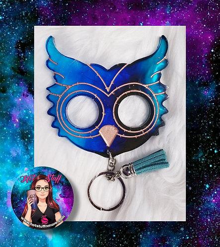 Owl Ombré Self-Defense Keychain