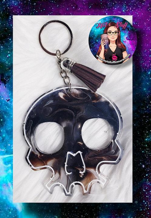 Smokey Skull Self-Defense Keychain