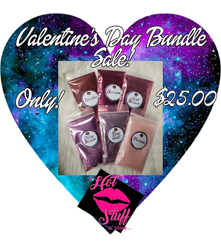 Valentine's Day Glitter Bundle