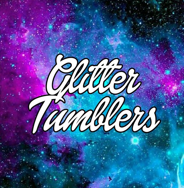 Hot Stuff N' More Glitter tumblers