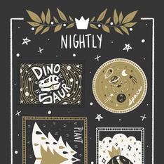 Nightly Sticker Sheet