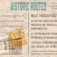 Historic Routes Postcard Back