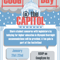 Coug Day at the Capitol Poster