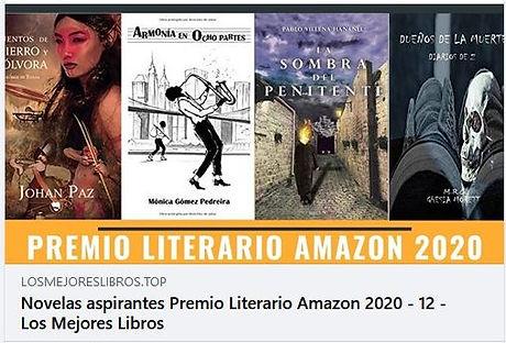 Los Mejores Libros Premio Literario Amaz