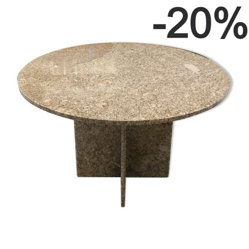 Pink granite table from the 70s