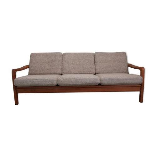 Canapé daybed des années 60 Juul Kristensen en teck