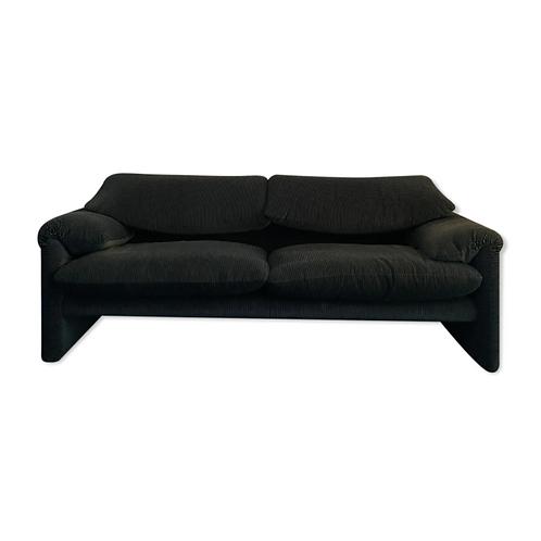 Maralunga 2 seater sofa 1/2 Cassina edition 80s / 90s