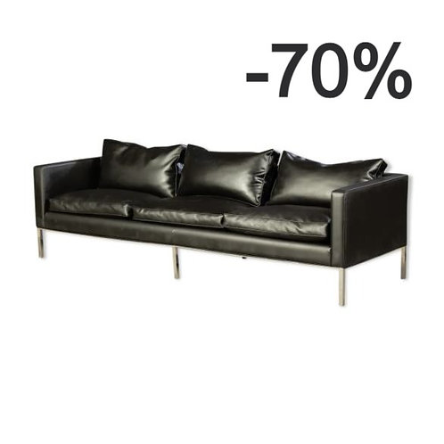 Black sofa from the 60s Artifort