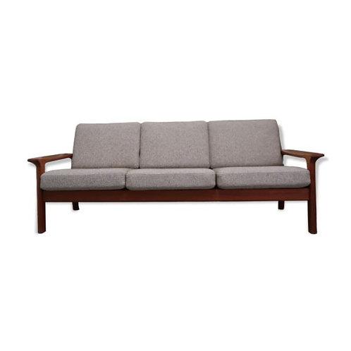 Scandinavian teak sofa from the 60s