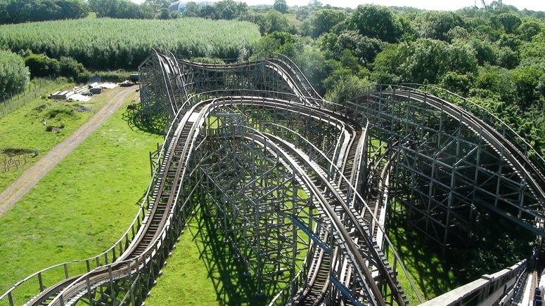 Oakwood, wooden Roller Coaster