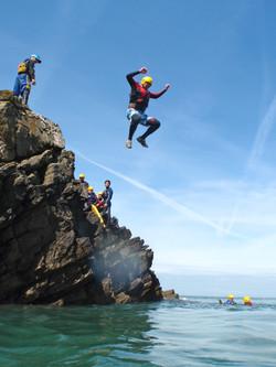 Pembrokeshire Coasteering