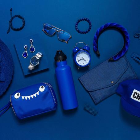 SM Accessories Pantone Blue