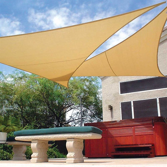 15' x 12' Right Triangle Coolhaven Shade Sail