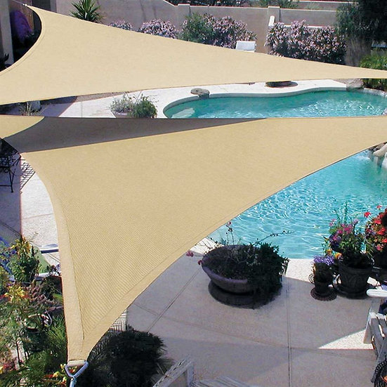12' Triangle Coolhaven Shade Sail