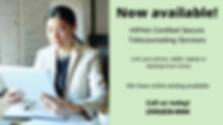 HIPAA Certified Secure Telecounseling Se