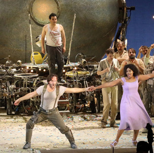 L'elisir d'amore Bayerische Staatsoper with Pretty Yende & Andrei Zhilikhovsky 9.2020