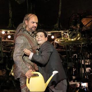 L'elisir d'amore  Bayerische Staatsoper with Milan Siljanov as Dulcamara 9.2020