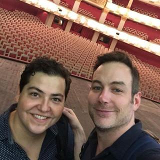 with tenor Stephen Costello Bayerische Staatsoper