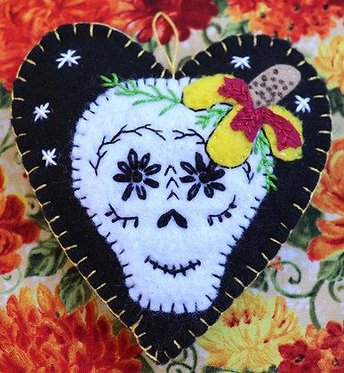Calavera & Mexican hat flower