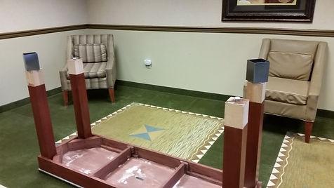 Hotel furniture repair