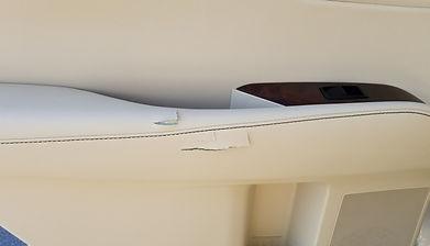 vinyl door repair