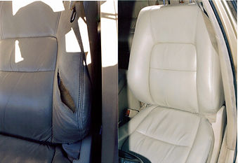 leathe auto interior repair