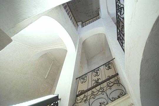 Treppenhaus Schloss Gleina