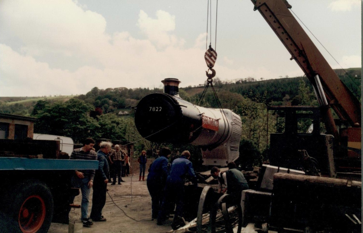 Craning in the Boiler