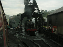 7822 being coaled
