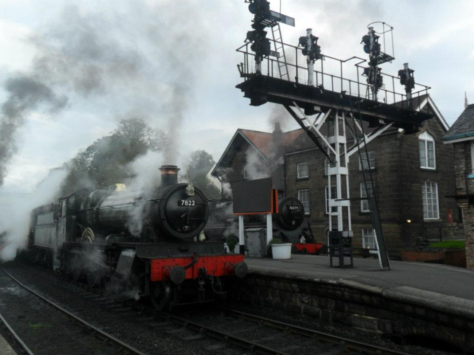 7822 on the NYMR