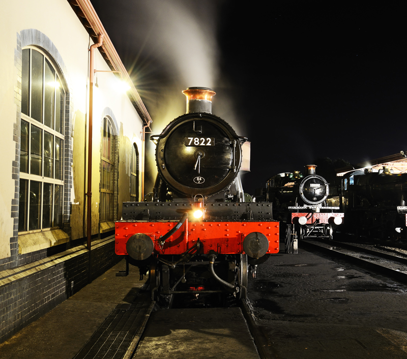 On Shed at Minehead