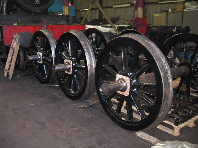 Off to be re-tyred