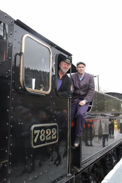 Graham Hoyland and Mat Grindley