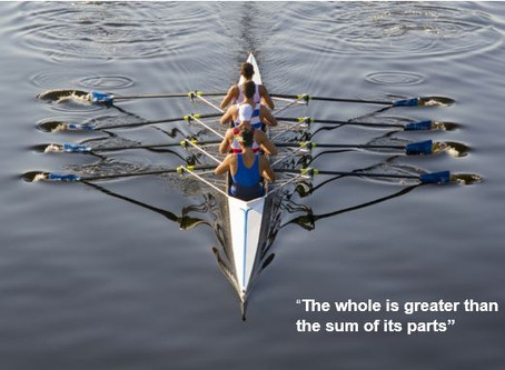 The whole is more than the sum of its parts
