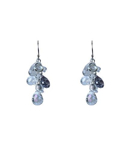 Topaz Cluster Earrings