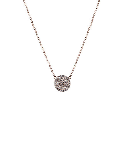 Revolution Necklace - Rose Gold