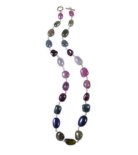 Tumbled Sapphire Pebbles