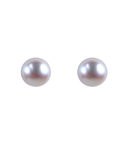 Cultivated Pearl Earrings - Rose