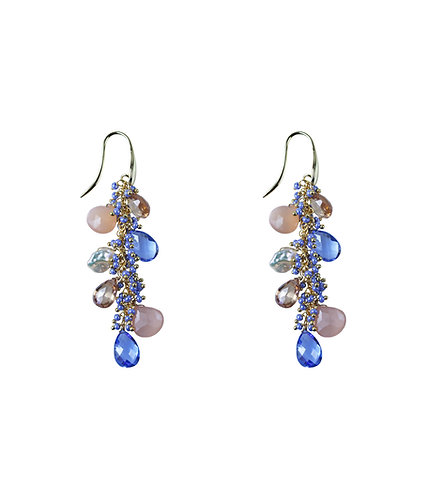Periwinkle Shaggy Earrings