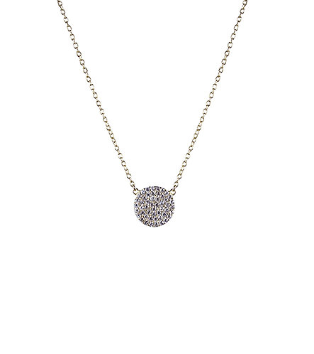 Revolution Necklace - Yellow Gold
