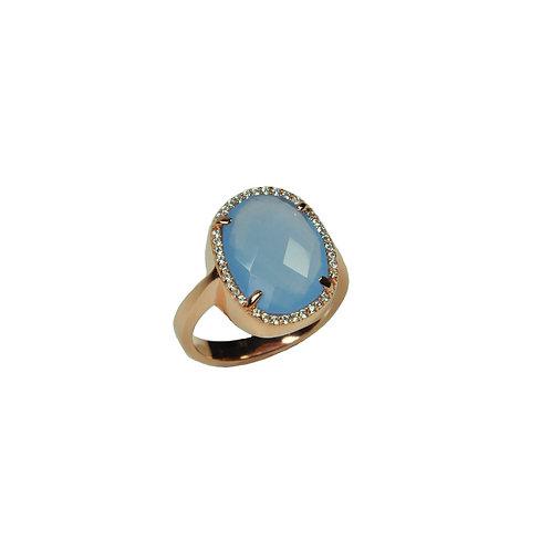 Blue Angel Ring
