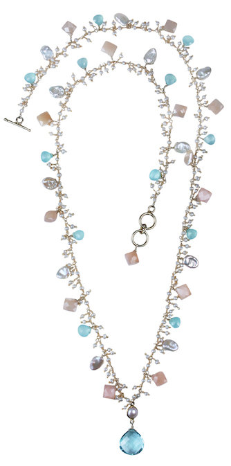 Pastel Shaggy Necklace