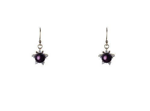 Satellite Earrings - Byzantium