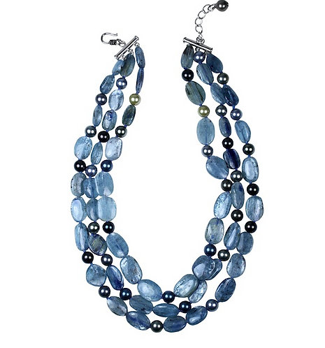 Kyanite Multi-Strand Necklace