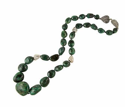 Tumbled Emeralds