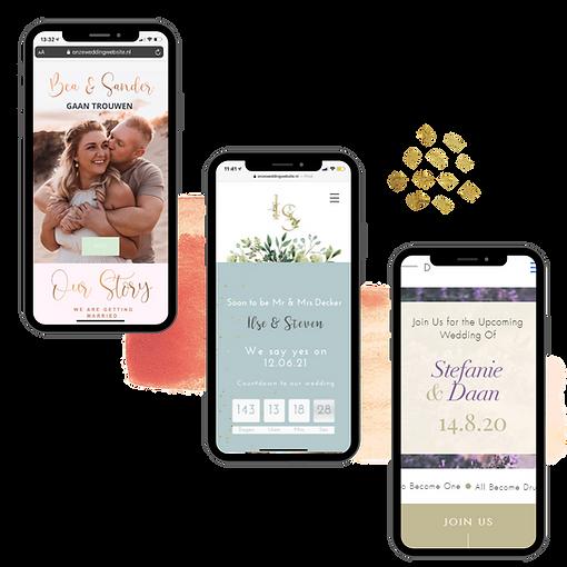 Mobile design wedding website.png