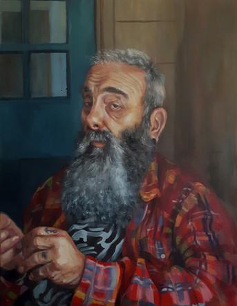 Paul, oil painting portrait