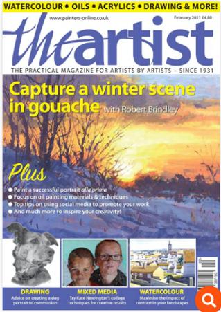 The Artist magazine Feb 2020