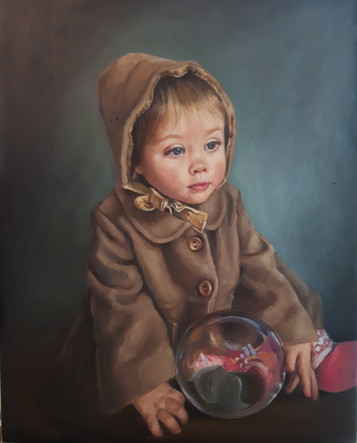 Sylvia child portrait