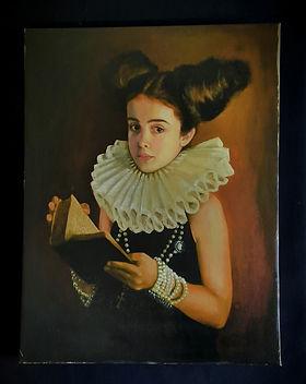 Print on Canvas `Scarlett Tudor`
